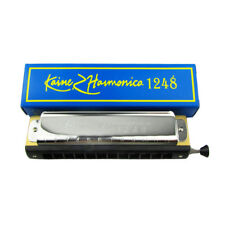 Chromatic Harmonica 12 Hole 48 Tone Key of C for Blues Jazz Classic Music