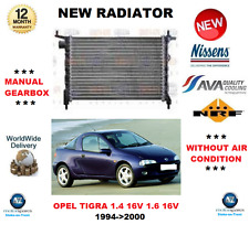 FOR OPEL TIGRA 1.4 16V 1.6 16V 1994-2000 NEW ENGINE RADIATOR ** OE QUALITY **