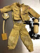 "G.I. Joe Style Military adventure 21st century 12"" action figure Outfit/gasmask"