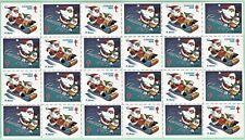 Canada - Christmas Seals 1985.  Full Sheet of 24 plus insert sheet.