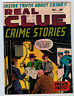 REAL CLUE CRIME VOL 6 #10 5.0 BONDAGE COVER OFF WHITE PAGES GOLDEN AGE