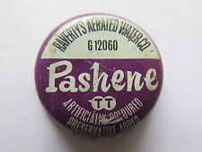CROWN SEAL BOTTLE CAP PASHENE by RAVERTYS AERATED WATER Co TRISTRAMS AUST USED