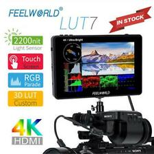 FEELWORLD FW-LUT7 7'' 2200nits 3D LUT Field Monitor 4K 1920x1200 IPS for SLR GD