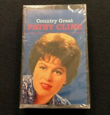COUNTRY GREAT PATSY CLINE New Unopened Sealed MCA Records Cassette Tape MCAC736