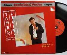 Tomas Ledin what are you doing Tonight 1983 12in 9:00 min versione