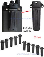 10x KBH-10 Belt Clip for Kenwood TK-272G TK-372G TK-2180 TK-3180 NX-248 Radio