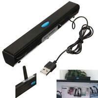 USB Multimedia Mini Speaker for Computer Desktop PC Laptop Notebook Tablet Black