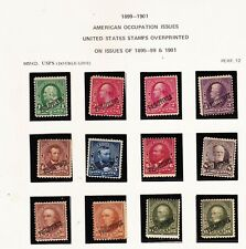 US - PHILIPPINES STAMPS WITH OVERPRINT