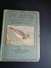 VINTAGE 1940`S THE BIRDS OF THE BRITISH ISLES migration &habits T A Coward