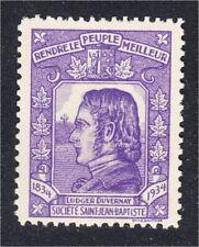 Societe Saint Jean Baptiste 1934 Ludger Duvernay Quebec Canada SSJB MNH