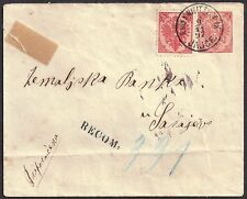 Cover Bosnian and Herzegovinian Stamps