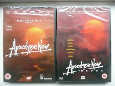 Apocalypse Now + Redux (2x DVD, 2002/2012) Francis Ford Coppola, New and Sealed