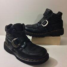 Doc Dr. Marten Monk Strap Lace Up Boots Mens Size UK 10  US 11 England 9619