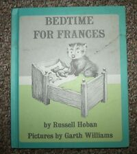 Bedtime For Frances Russell Hoban 1960 Good Condition