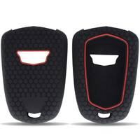 For Cadillac ATS XTS CTS SRX Escalade Silicone Car Remote Key Case Cover