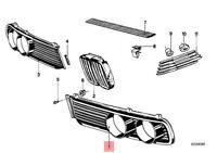 Genuine BMW E12 Sedan Headlight Front Lamp Grille Left OEM 51131817569