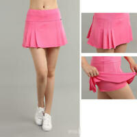 Sexy Short Skirt Tennis Golf Sport Casual Quick Dry Dress with Privacy Underwear