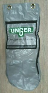 Unger Cleaning Cart Gray Bag attachment Restroom Replacement Part