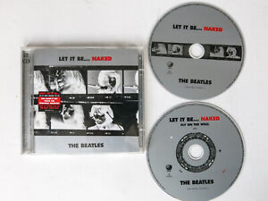 The BEATLES Let It Be... Naked 2CD 2003 inc fly on the wall disc
