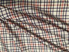Tartan Check Style Nylon Fabric, Per Metre