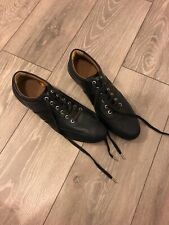 Armani Jeans Black Smart Leather Shoes