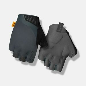 GIRO SUPERNATURAL Road/MTB Cycling Gloves Size MEDIUM M (8) Gray Padded Palm
