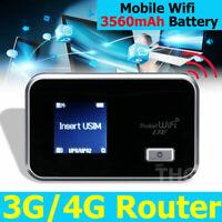 Portable 4G Wifi Wireless Router Mini Mobile Modem Hotspot SIM Card Unlocked