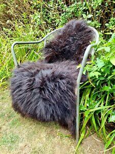 XXXL British Jacobs Brown Sheepskin Rug - 125cm by 80cm A++ (2848)