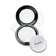 Stargazer Pressed Powder Foundation Make Up Compact with Mirror - White Goth
