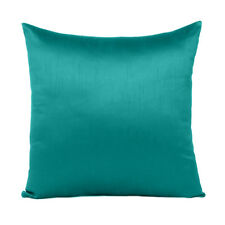 """Cover Solid Color Sofa Pillow Case Cushion Square Home Decor Turquoise Green 18"""""""
