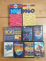 audio music cassette tapes bundle joblot x9 as pictured mct04