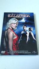 """DVD """"BATTLESTAR GALACTICA TEMPORADA 1 UNO"""" 4DVD EN MUY BUEN ESTADO"""