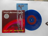 THE ALMIGHTY - OUT OF SEASON LIMITED EDITION BLUE VINYL in PIC/SLEEVE