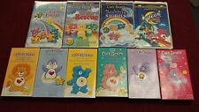 LOT 11 CARE BEARS VHS TAPES 4 SEALED! BEDTIME STORIES TO THE RESCUE LAST LAUGH
