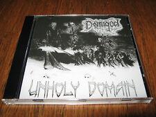 "DEMIGOD / NECROPSY ""Unholy Domain"" CD  demilich convulse agonized"