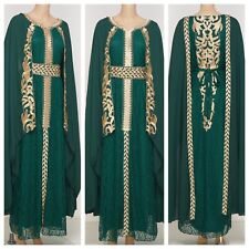 Moroccan Styled  High End Takchita with Belt  SIZE MEDIUM UK SIZE 12/14