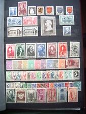 année complète 1944  timbre neuf **cote 107 euro