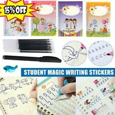 Magic Calligraphy Can Be Reused Handwriting Copybook Groove Set For Kid Writing
