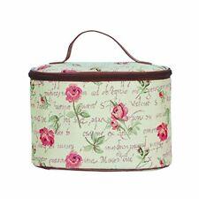 Kosmetik Tasche Rose Blume Beutel Etui Kulturbeutel Nessesair Gobelin