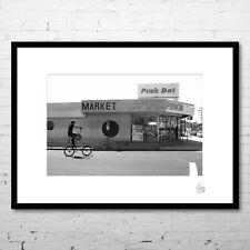 """Photographie d'art (+cadre) """"VENICE"""" (Paysage USA Los Angeles Californie)"""