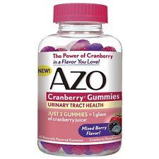 AZO Cranberry Gummies Urinary Tract Health, Mixed Berry 40 ea