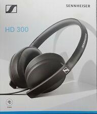Sennheiser HD 300 Cuffia Stereo Circumaurale Dinamica Chiusa, Richiudibile