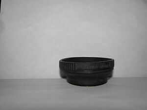 Used Vivitar 52mm Lens Rubber Shade Hood vintage for 50mm normal lenses B20241