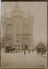 Bruxelles Belgique Vintage citrate Photo amateur ca 1900