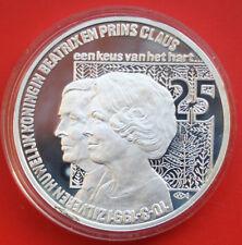 Netherlands-Niederlande: 25 ECU 1991 Silber Proof Coin, #F1842, rare