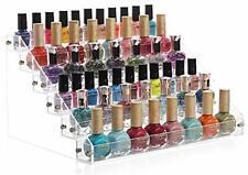 Soporte de mesa para esmaltes de uñas acrílico, 6 capas 72 botellas
