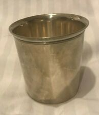 Rare 1800s Silver Cup From France Charles Halphen French Silver Alloy 1st Class