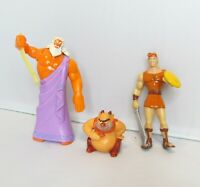 McDonalds Happy Meal Toy Figure Figurine Disney Lot VTG Zeus Phil Hercules 1996