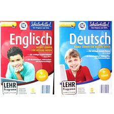Schülerhilfe Bundle 4.Klasse Deutsch+English Neu+in Folie XP/7/8/10/32+64 Bit#L2