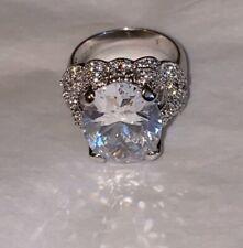 Sweetheart Ring Size 6 New Joseph Esposito Diamonique Sterling 10.10 ct.
